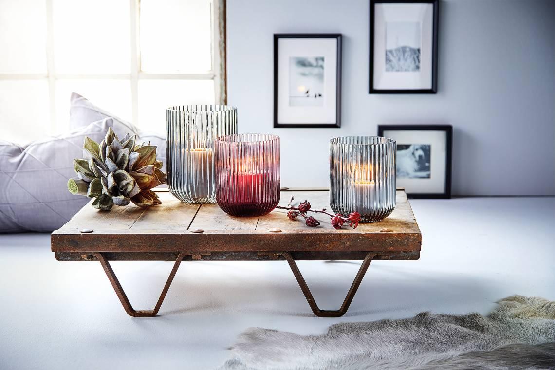 Engels Kerzen: Windlichtern 'Amelie' / Mood Loungetisch/Kerzen/Deko
