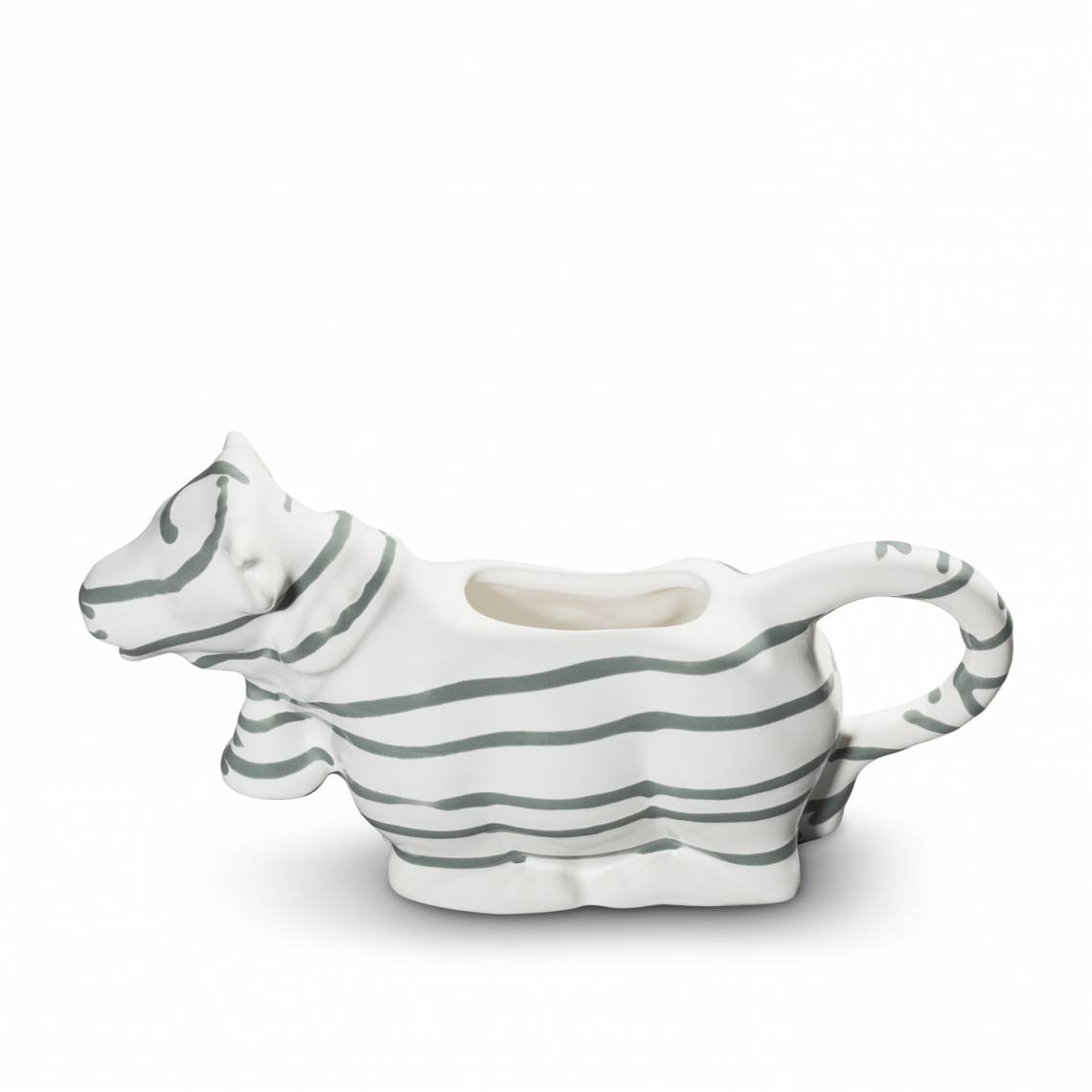 Gmundner Keramik: Graugeflammt und Pudertöne / Milchkuh /0106GIMK19