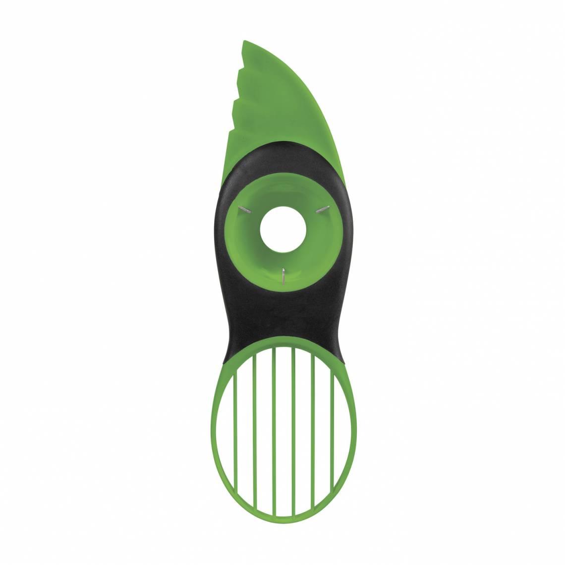 OXO 3-in1-Avocadoschneider grün
