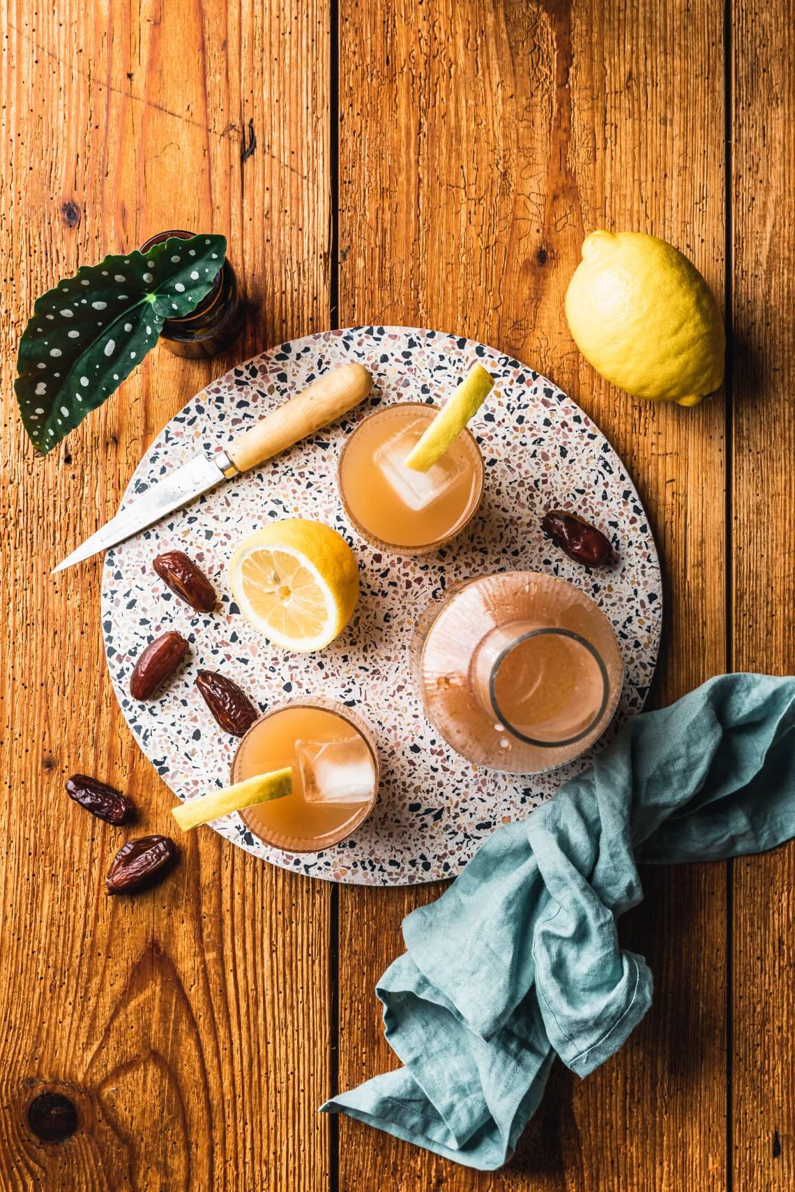 Intervallfasten mit Seeberger / Dattel-Limonade 1