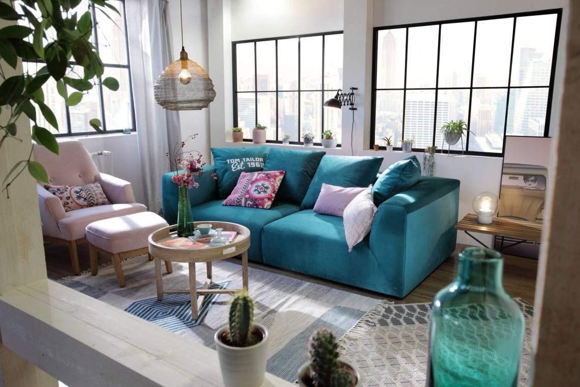 Tom Tailor Home Big Cube Casual Big Sofa Mood