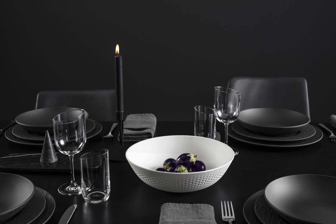 Villeroy & Boch: Tischkulturkollektion Manufacture Rock Glow