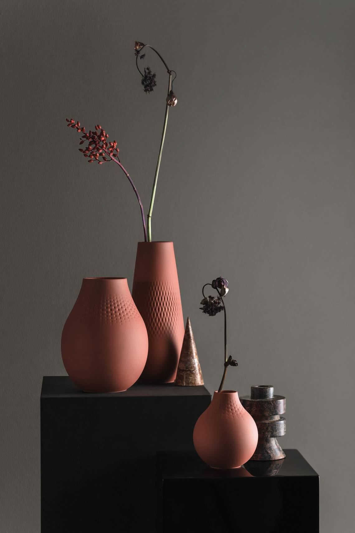 Villeroy & Boch: Manufacture Collier Vasen Arrangement