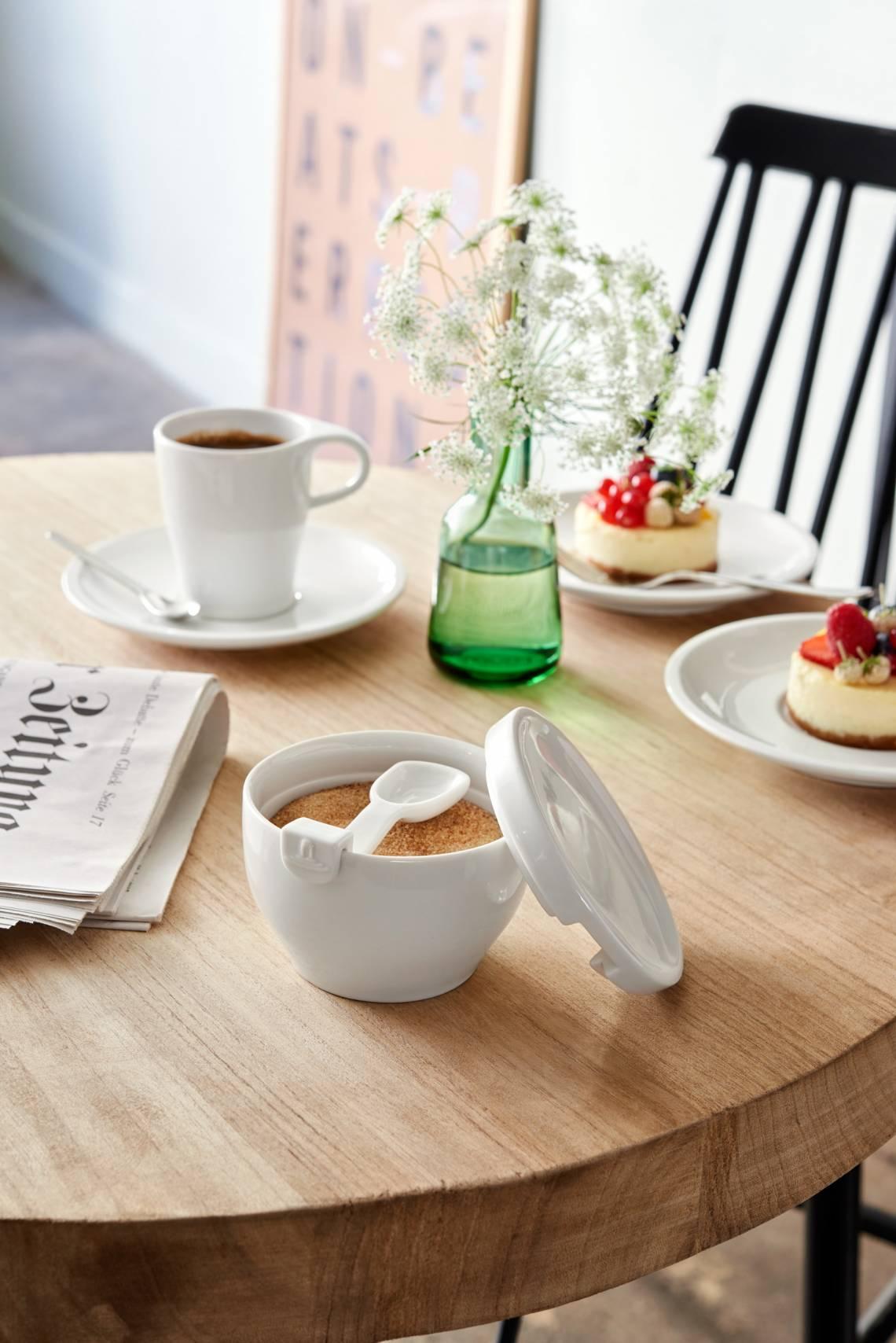 Villeroy und Boch Coffee Passion Kaffeebecher und Zuckerdose Milieu 2