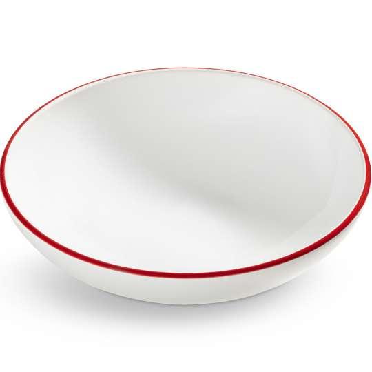 "Design ""Rubinroter Rand"" - Suppenteller Cup"
