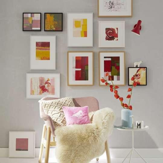 Wandgestaltung mit Bildern