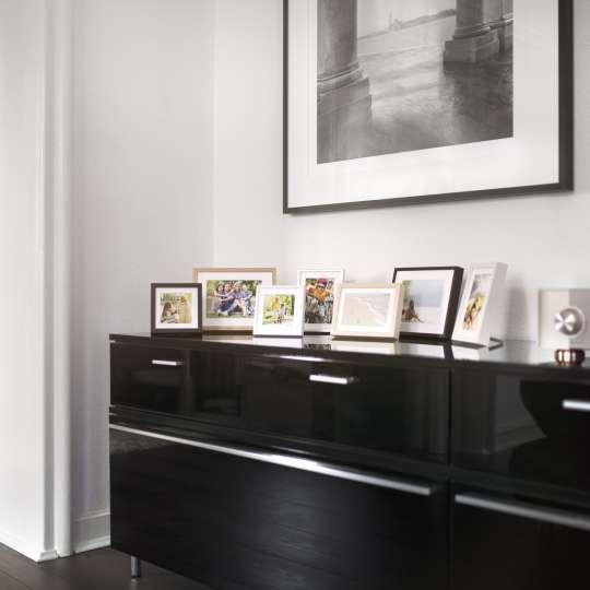 Magnetrahmen für einen modernen Wohnbereich