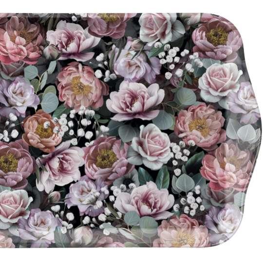 "Ambiente Europe:: Vintage Flowers"" Tray Tablett"