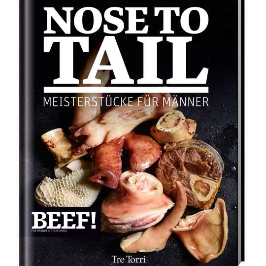 Buch-Cover BEEF! NOSE TO TAIL