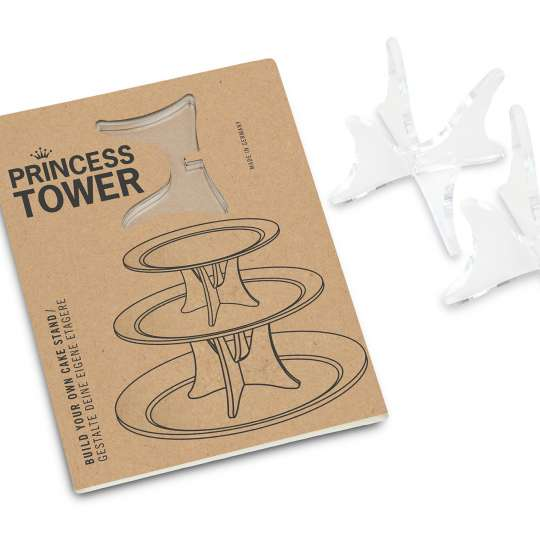 BRAINSTREAM - Princess Tower Etagere - selbst gestalten