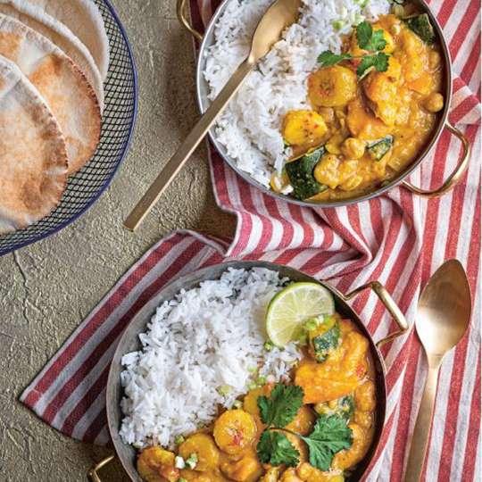 Bananen Curry