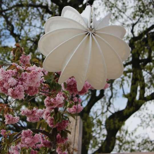 Zeit für Frühling - Outdoor-Lampion weiss, S Mood 2