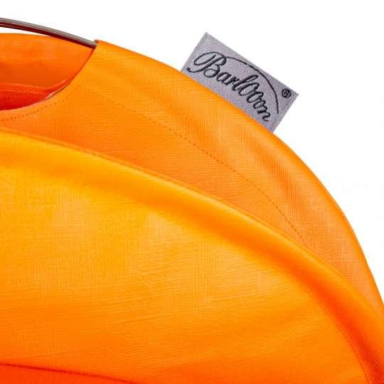 Barlooon: der wetterfeste Lampion mit Label, orange