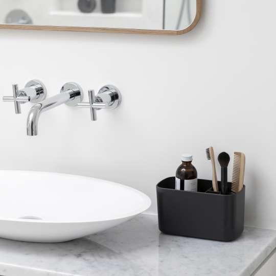 Badezimmer-Aufbewahrung CADDY in Dunkelgrau von Brabantia