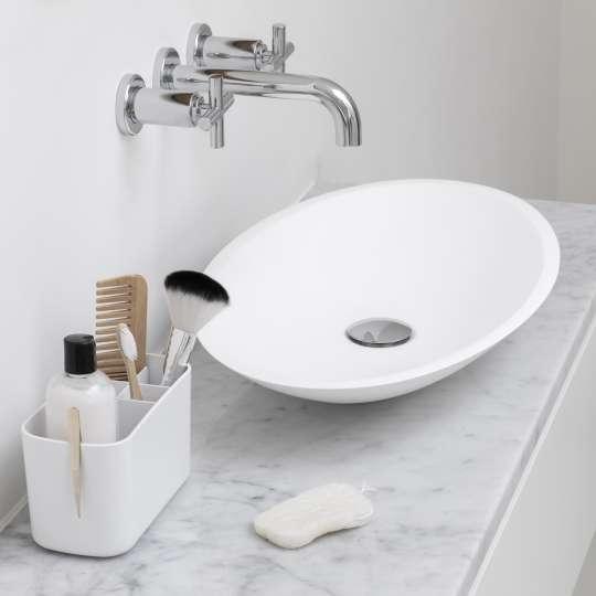 Badezimmer-Aufbewahrung CADDY in Weiss von Brabantia