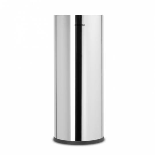 Brabantia Toilettenpapier-Aufbewahrung RENEW in Brilliant Steel