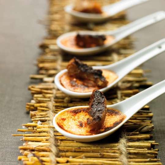 Crème brûlée à la provençale mit Paprika