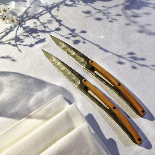 Deejo Steakmesser Art Deco Mood 3