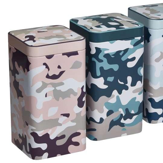 Eigenart CACS9898189  Teedose Camouflage groß