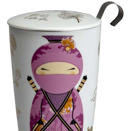Eigenart Little Family TEAEVE Porzellanbecher Little Ninja Pink - 80012