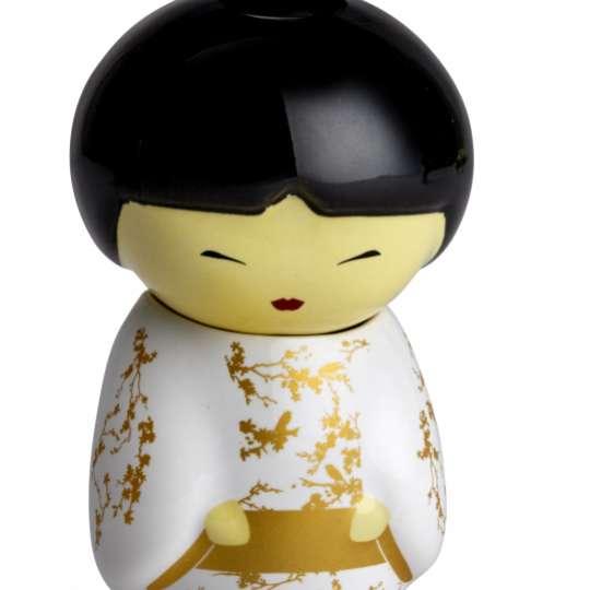 Eigenart Cherry Blossom TEAFAN Keramikpüppchen Geiko mit integriertem Teesieb - 60005