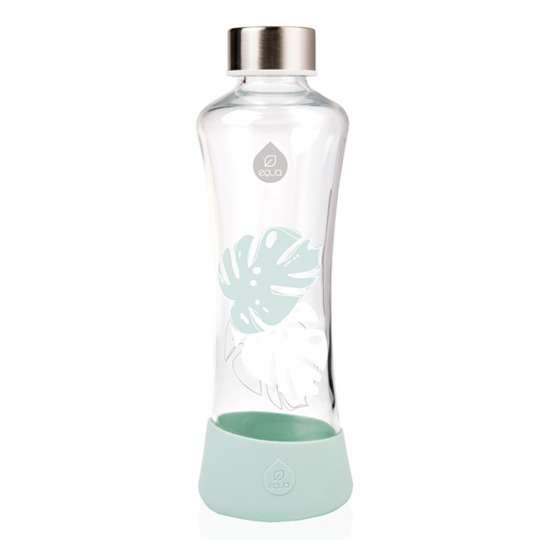 Bunt, edel und umweltfreundlich: Equa Trinkflaschen / Kollektion Urban Jungle / Monstera