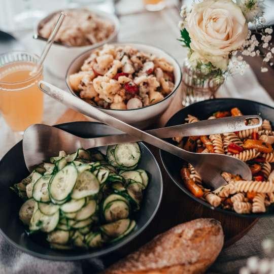 56120 - Satin Salatbesteck von Stanley Rogers
