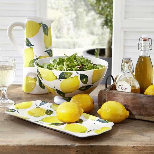Mediterranes Flair in der Küche - Zitronen-Geschirr-Serie von formano