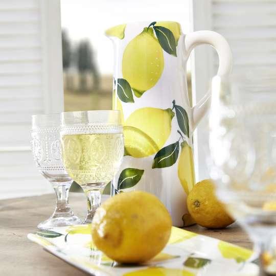 formano Krug mit Zitronenmotiv