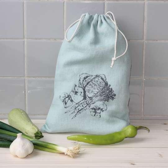 Frohstoff Mood Leinenbeutel Gemüse grün