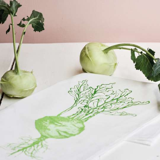 Frohstoff Mood Kohlrabi grün