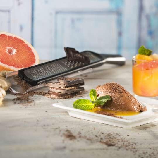 GEFU Ingwer-Schokoladenmousse mit Zitrusfruchtkompott querformat 3