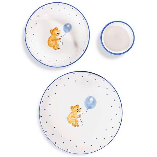 Gmundner Keramik: Kindergeschirr für die Kleinsten / Set 'Bär'