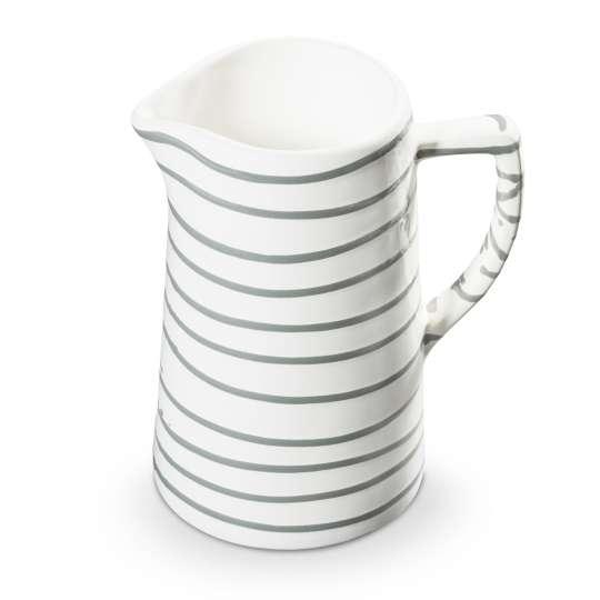 Gmundner Keramik: Graugeflammt und Pudertöne / Wasserkrug / 0106KRWA10