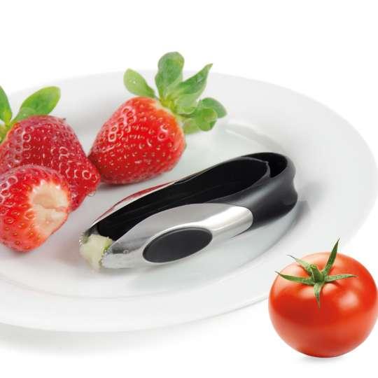 Homiez: Strunkentferner picciolo, HZ0140, Erdbeeren und Tomate