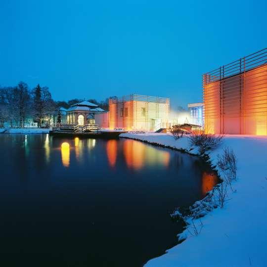 Kurpark im Winter  - Fotocredit: Bad Steben