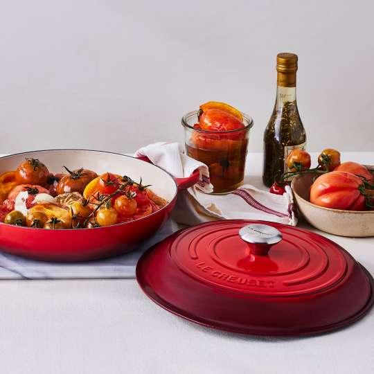 Konfitierte Knoblauch-Tomaten