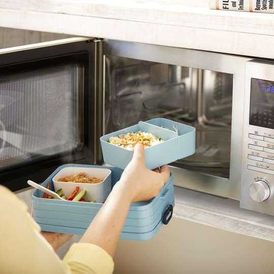 Mepal - Meal-Prep - TAB Lunchbox mit Bento-Einsatz - für die Mikrowelle