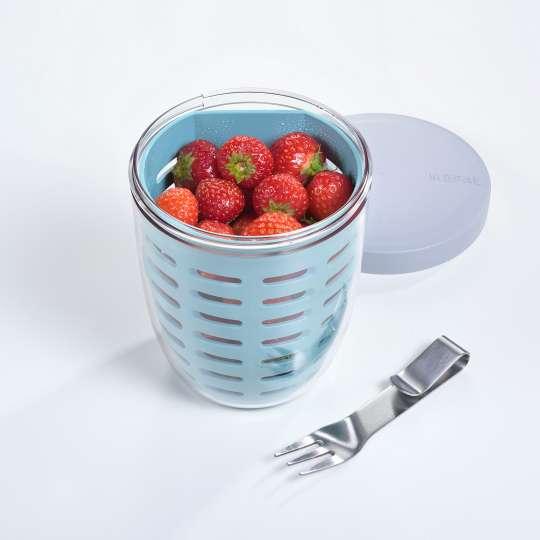 Mepal - Meal-Prep - Fruitpot mit Erdbeeren