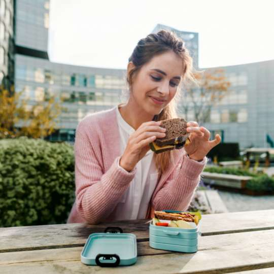 Mepal - To-Go-Range - TAB Lunchbox mit Bento-Einsatz, midi mood