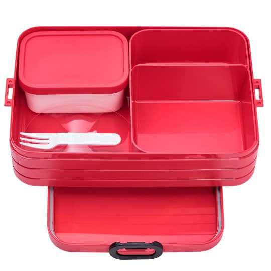Mepal - To-Go-Range - TAB Lunchbox mit Bento-Einsatz, large nordic red