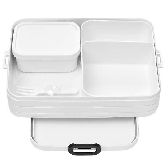 Mepal - To-Go-Range - TAB Lunchbox mit Bento-Einsatz, large weiss