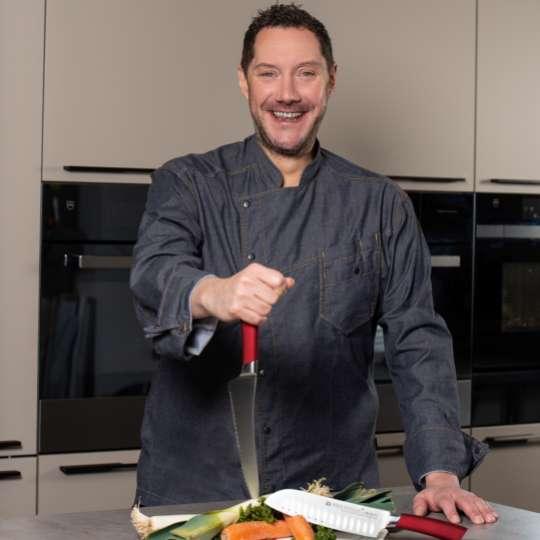 Fernsehkoch und Kochbuchautor Mirko Reeh