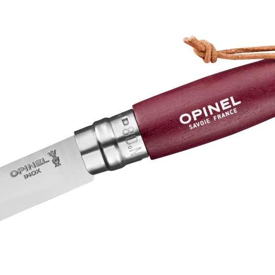 OPINEL COLORAMA No. 08 burgunder 254492