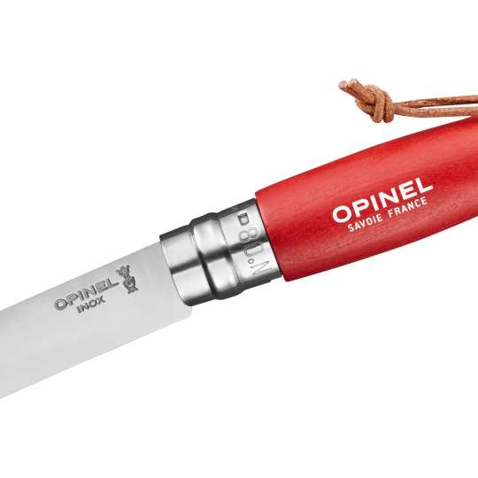 OPINEL COLORAMA No. 08 rot 254298