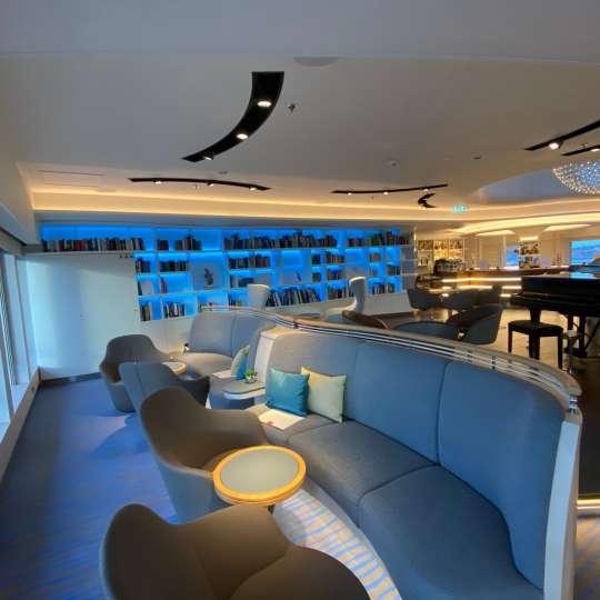 Hanseatic Inspiration - Observation Lounge .. dieser Platz muss leider frei bleiben