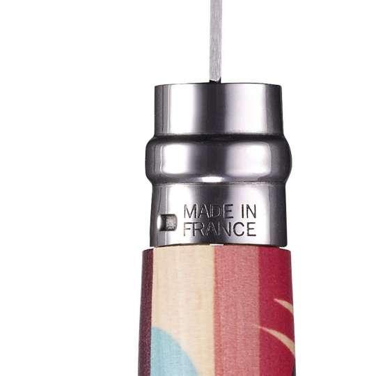 Opinel-Messer mit ganz viel Liebe: Serie Edition Amour / Design Pellegrino / Messerrücken