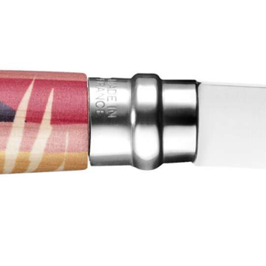 Opinel-Messer mit ganz viel Liebe: Serie Edition Amour / Design Pellegrino / Messer  Ansicht Klinge nach rechts