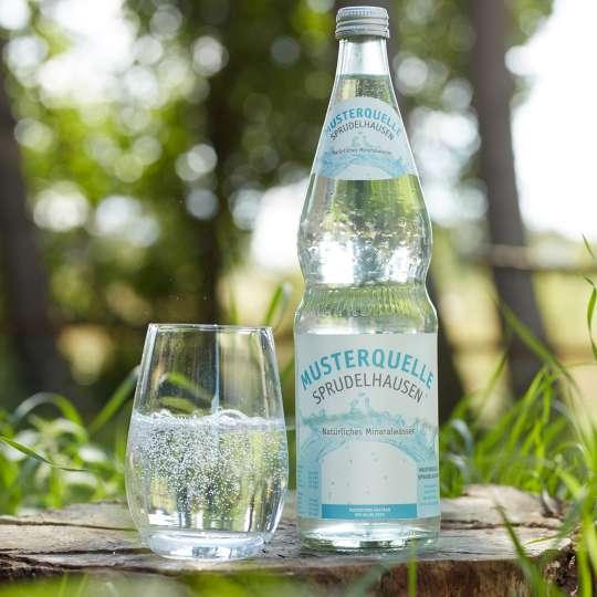 Im Sommer viel Wasser trinken