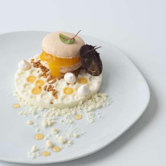Lemon Curd Macaron